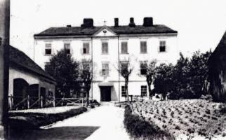 Klášter v roce 1899  (zdroj: archiv vlisni.cz)