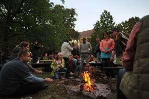 Slavnost v zahradě Orlovny II (foto: Jana Rašková)