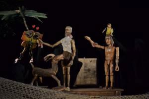 Divadelní hra Robinson (foto: Mirka Knoblochová)