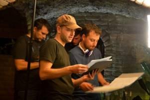 Natáčení filmu Setkání pod Brnem - Labyrint pod Zelným trhem