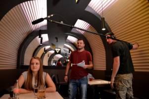 Natáčení filmu Setkání pod Brnem - METRO-BAR
