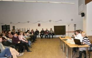 Veřejná debata v Líšni (zdroj: P. Pokorný)